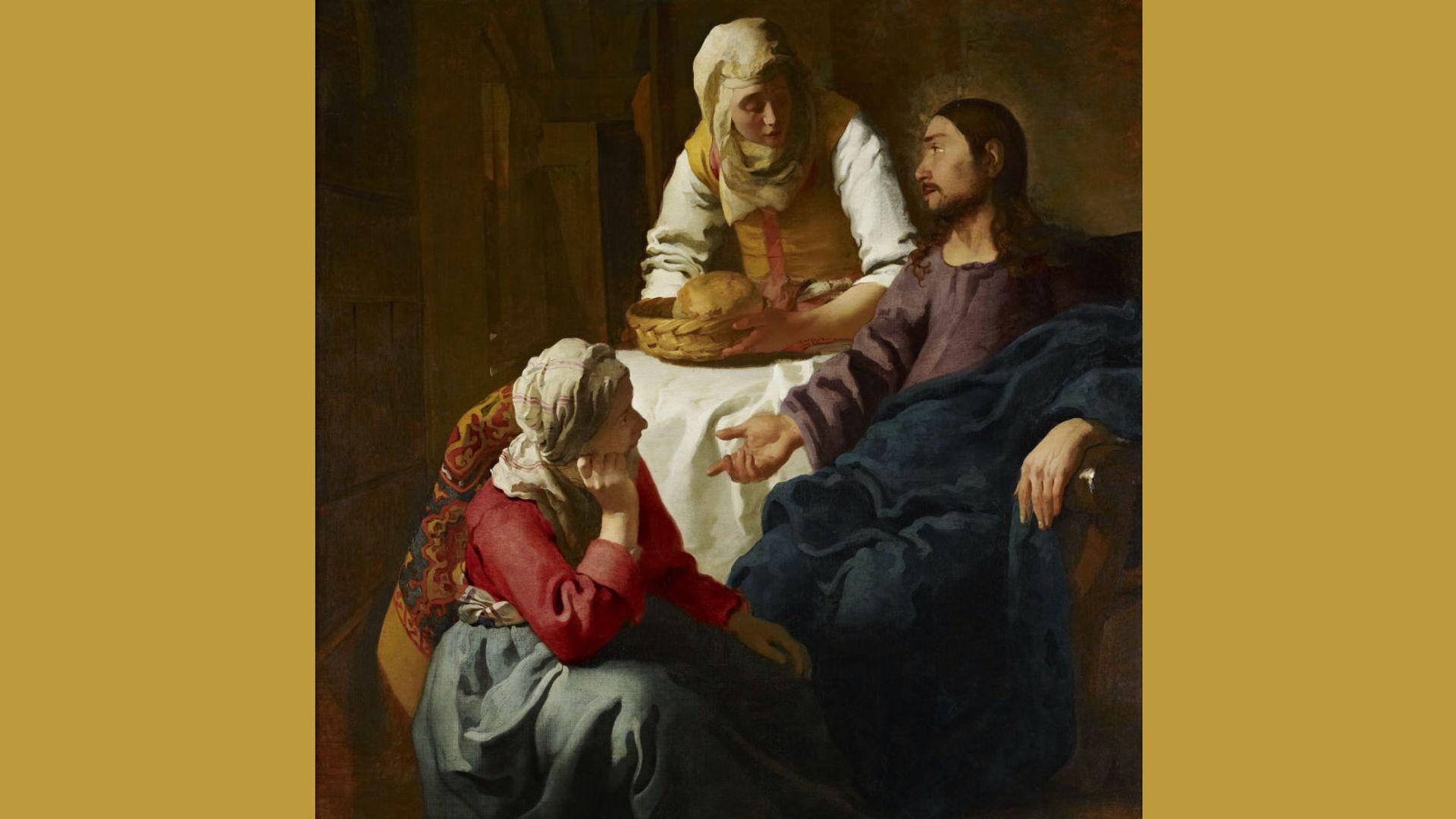 Lees meer over het verhaal van Marta en Maria: 'Toon mij jouw Marta en Maria en Jezus (en Lazarus), en ik toon je wie je bent…'