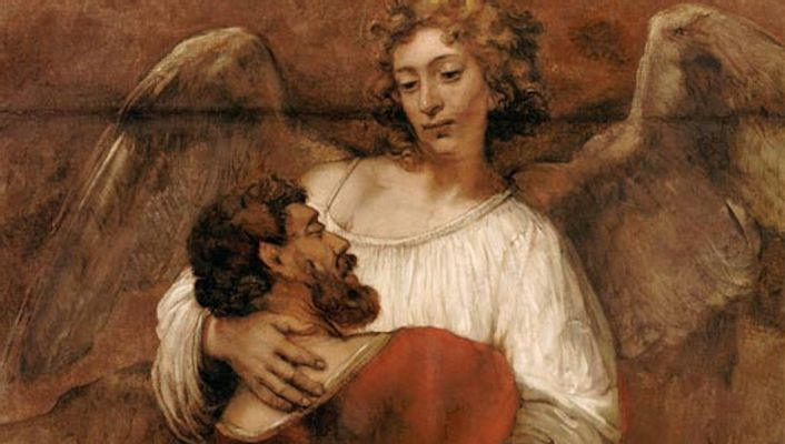 Hoe een schilderij van Rembrandt Corjan helpt om te worstelen met God