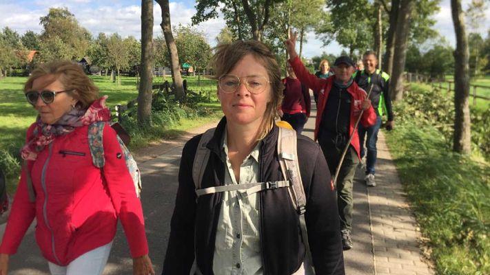 Lydia wandelt voor het klimaat: 'Deze pelgrimstocht helpt om bij m'n bewustwording'