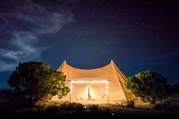 God woont in een tent: de les van het joodse Sukkot
