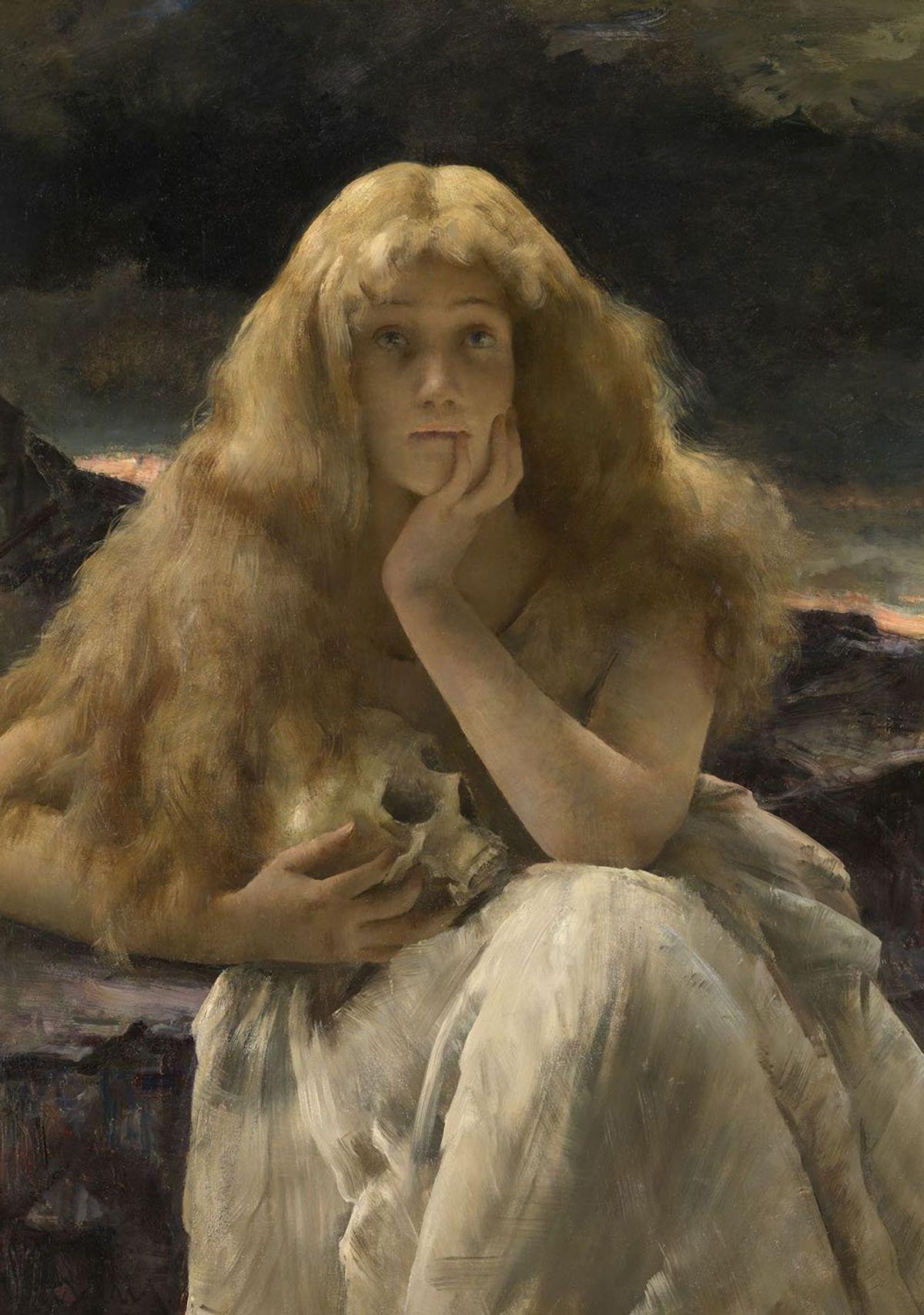 Maria Magdalena van Alfred Stevens (1887), Museum voor Schone Kunsten Gent