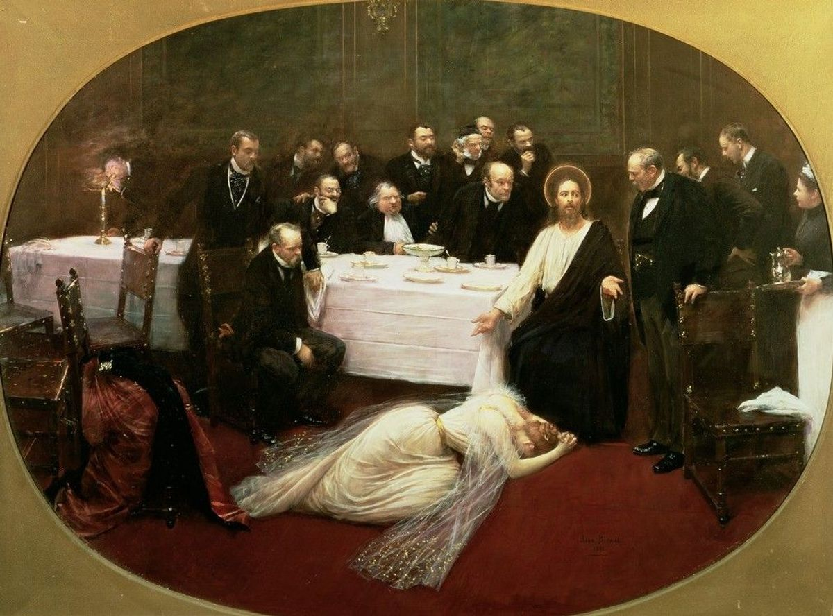 La Madeleine chez le Pharisien van Jean Béraud (1891) Musée D'Orsay